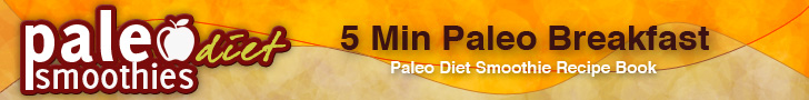 5 Min Paleo Breakfast: Paleo Diet Smoothie Recipe Book